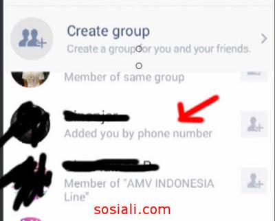 Cara mengetahui teman/orang add back kita di line