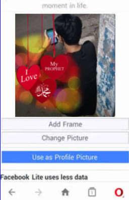 Cara Mengedit Bingkai Foto Profil Maulid Nabi Muhammad SAW