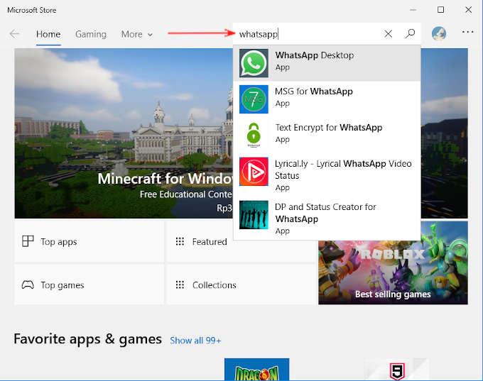 Cara Download Whatsapp Di Laptop Windows Di 2021